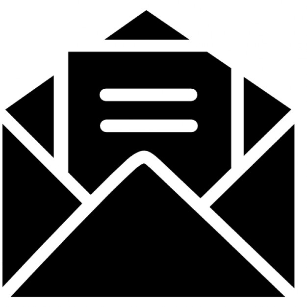 open envelope with letter 318 35337